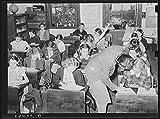 Schoolroom. Grade school, San Augustine, Texas