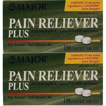 Amazon Com Headache Pain Relief Generic For Excedrin Extra Strength