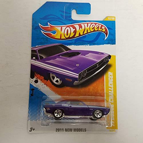 '71 Dodge Challenger Purple Color 2011 Hot Wheels New Models 1/64 diecast car No. 12