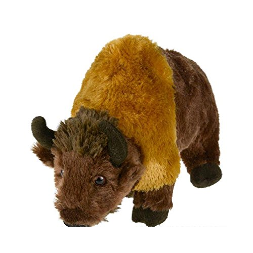 9'' Animal Den Bison Plush (With Sticky Notes) by Bargain World