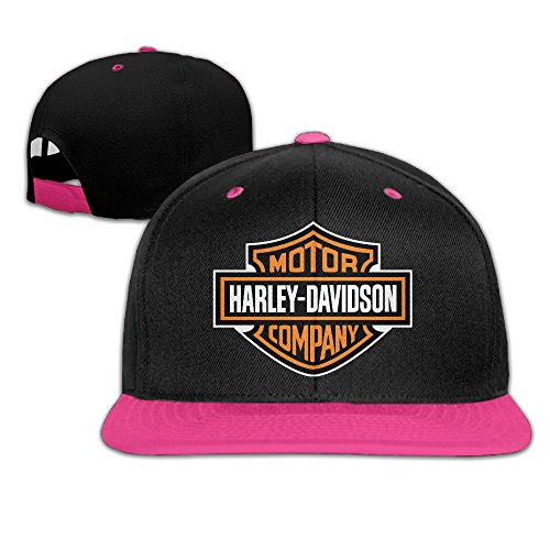 Greenday Harley Davidson Unisex Adjustable Hip-hop Baseball Cap Pink