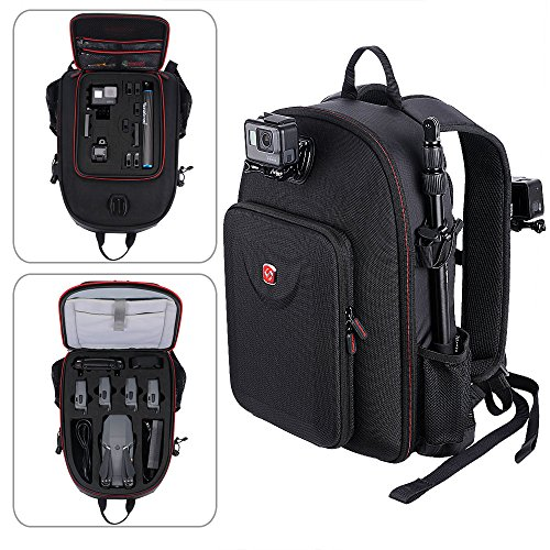 Smatree Multi-Purpose Backpack for DJI Mavic Pro/ GoPro Hero Session/ Hero 6/ 5/ 4/ 3/ 2/ 1 by Smatree