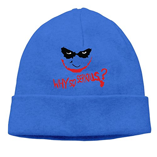 [OLala Why So Joker Men And Women Fashion Knitted Beanie Skull Caps] (Wicked Musical Costumes Sale)