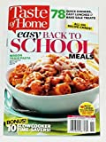quick cooking 2013 - Taste of Home Easy Back to School Meals 2013