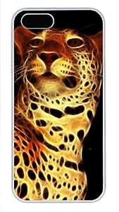 iCustomonline Case for iPhone 5S PC, Digital Leopard Ultimate Protection Case for iPhone 5S PC