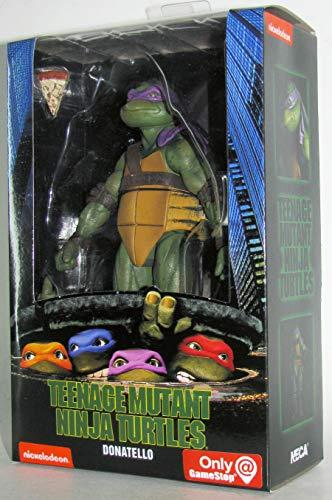 Teenage Mutant Ninja Turtles 90's Movie Donatello 6.5-inch Action Figure by NECA Reel Toys 2019 GameStop Exclusive -