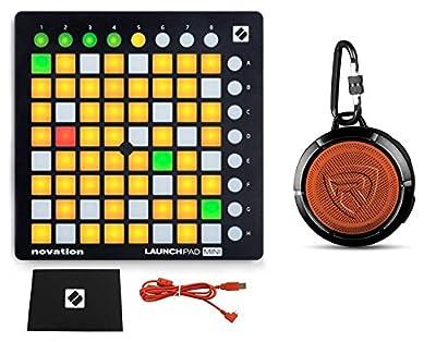 Novation LAUNCHPAD MINI MK2 MKII USB MIDI DJ Controller 64-Pad + Free Speaker by Novation
