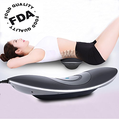 Sales Until Black Friday!!Patented FDA Guaranteed 4 in 1 Medical Waist Lumbar Traction Device with Heat and Magnetotherapy, Luxurious Enjoy,Therapy Unit Provide Relief for Back Pain and Soreness by ALPHAY
