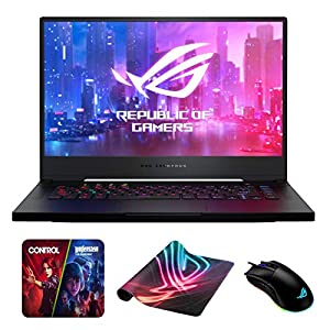 ASUS ROG Zephyrus S GX502GV-PB74 (i7-9750H, 16GB RAM, 512GB NVMe SSD, RTX 2060 6GB, 15.6″ Full HD 144Hz 3ms, Windows 10) Gaming Notebook