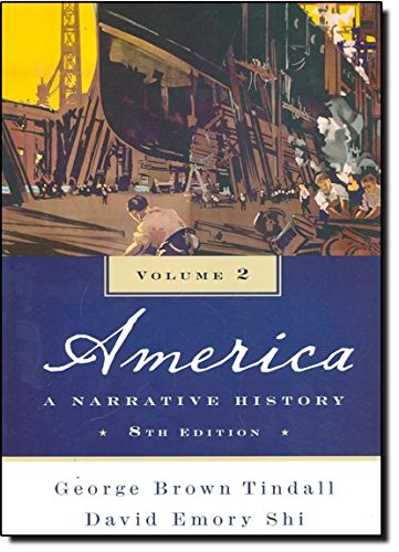 America:Narrative History,V.2