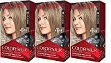 Revlon Colorsilk Beautiful Color, Dark Ash Blonde, 3 Count