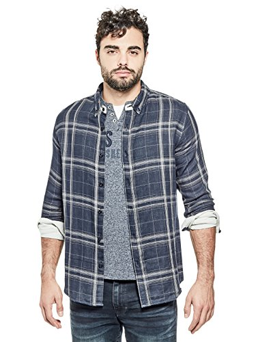 GUESS Factory Men's Kipling Reversible Shirt