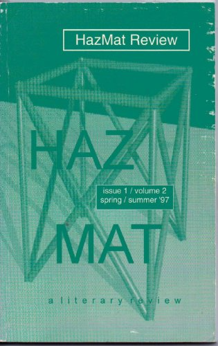 HazMat Review Volume 2, Issue 1, Spring/Summer 1997