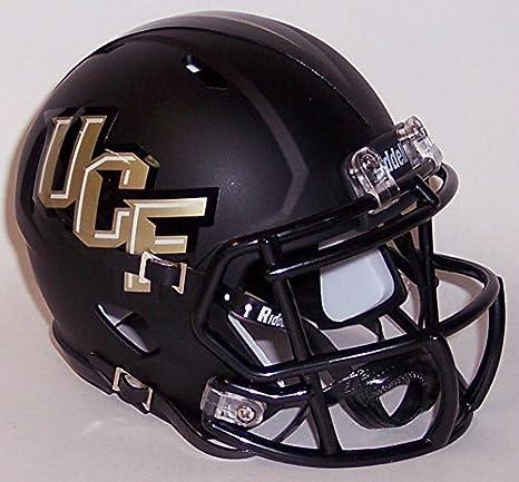 ced8c2fe Amazon.com: UCF Central Florida Knights Black Matte Finish Riddell ...
