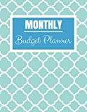 Monthly Budget Planner: Simple Blue Design Budget