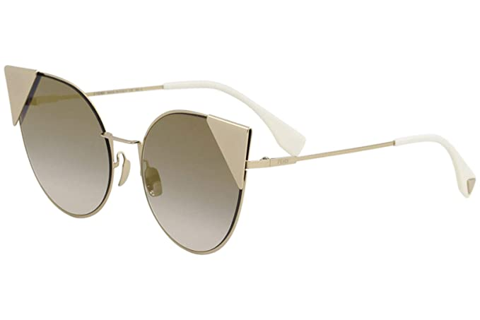 2a7d9b6f31 Fendi FF0190 S 000 Rose Gold FF0190 S Cats Eyes Sunglasses Lens Category 2