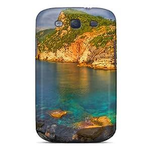 SbruxGI873HquQl JerryDonB Awesome Case Cover Compatible With Galaxy S3 - Grotta Di Byron Portovenere Italy