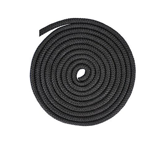 """Extreme Max 3008.0334 Black 5/8"""" x 100' 16-Strand Diamond Braid Utility Rope"""