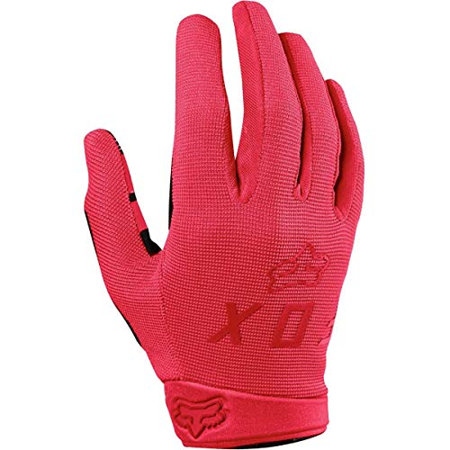 Leather Gloves Ranger - Fox Racing Ranger Glove - Women's Rio Red, S