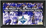 "MLB Kansas City Royals 2015 World Series Champions ""Celebration"" Signature Field Photo Mint"