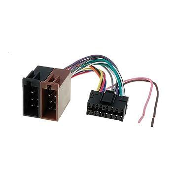 Amazon.com: Sony ISO Lead Wiring Loom Power Adaptor Wire Radio ...
