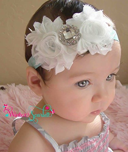 Amazon baby headband white flower headband baby headband baby headband white flower headband baby headband baby girl hedband newborn headband mightylinksfo