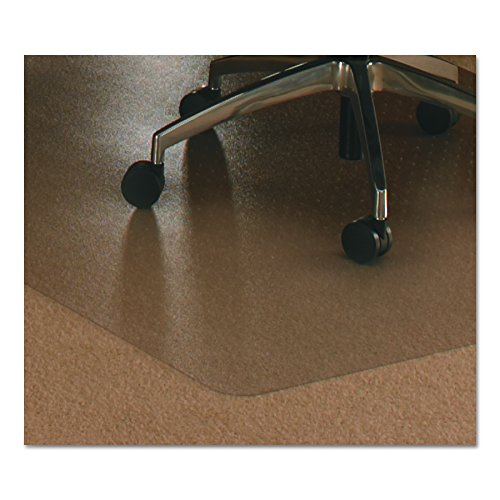 Floortex Ultimat Polycarbonate Chair Mat for Carpets up to 1/2'' Thick, 79''x48'', Rectangular, Clear (1120023ER) by Floortex