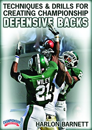 Championship Productions Harlon Barnett: Techniques and Drills for Creating Championship Defensive Backs DVD (Best Football Coaching Dvds)