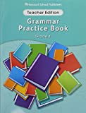 Storytown: Grammar Practice Book Teacher Edition Grade 4