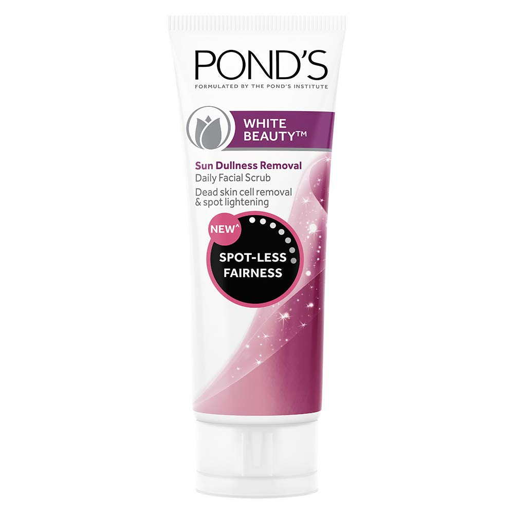Pond's White Beauty Sun Dullness Removal Daily Facial Scrub 100 g product image