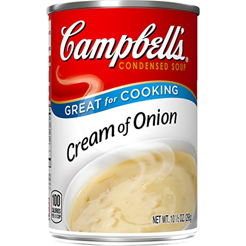 - Campbell's Condensed Cream of Onion Soup, 10.5 oz. Can (Pack of 12)