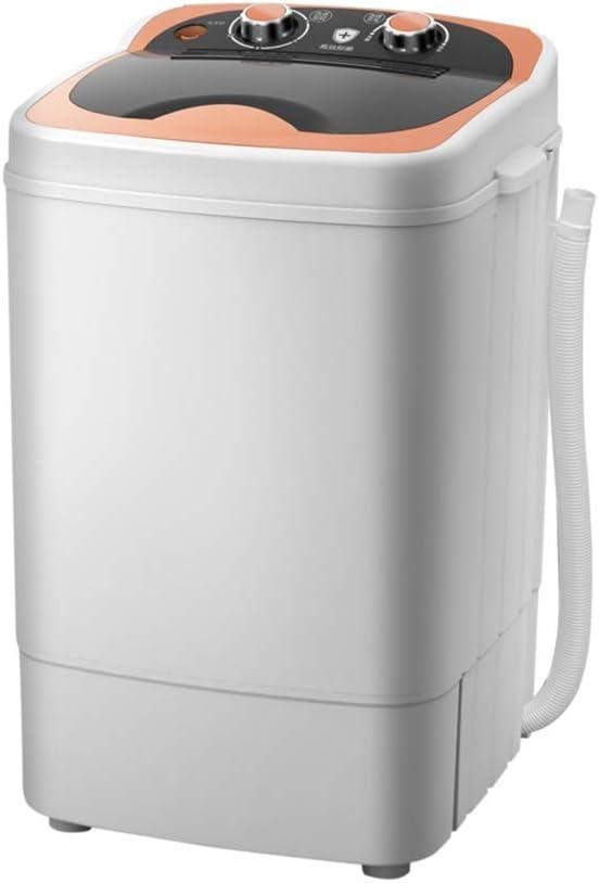 SMLCTY Mini Lavado, eléctrico Mini Ropa Lavadora de Carga Superior semiautomático 7,0 kg de Ropa Lavadora, Conveniente for el Apartment Hotel compartida