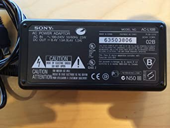 Sony AC-L10B AC Power Adapter