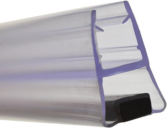 Perfil de mampara magnético para puerta de ducha corredera. Cierre ...