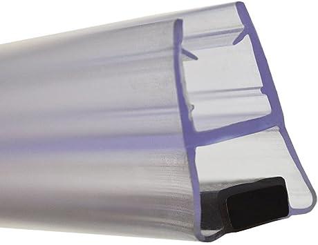 Perfil de mampara magnético para puerta de ducha corredera. Cierre recto de 1832 mm: Amazon.es: Bricolaje y herramientas