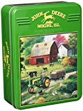 MasterPieces Puzzle Company John Deere Country Side Collectible Jigsaw Puzzle Tin (1000-Piece)