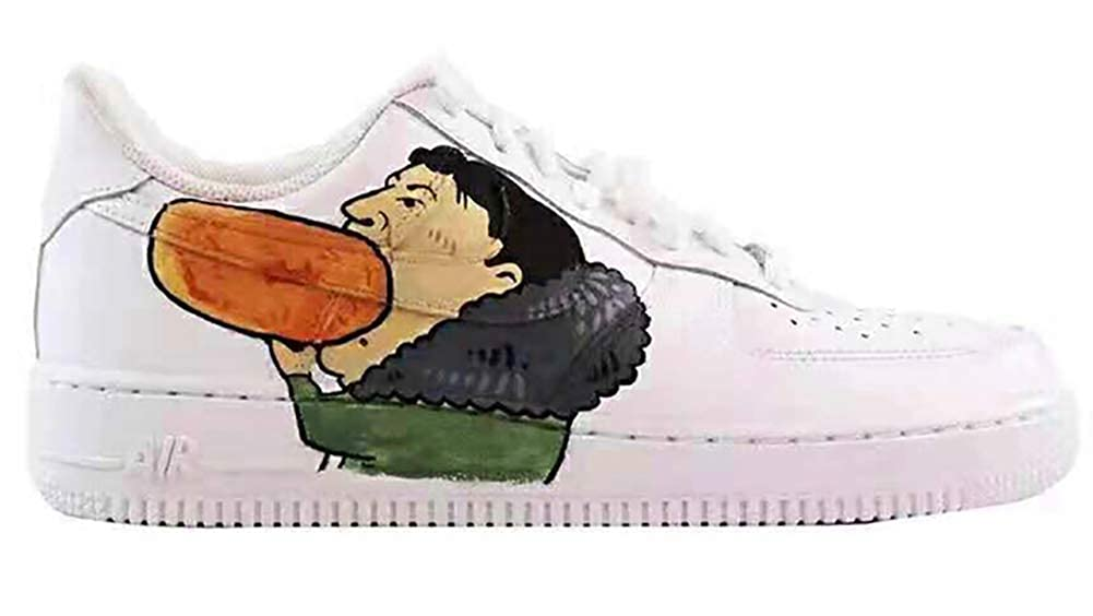 Dlbj cartoni animati animati animati diverdeenti scarpe da