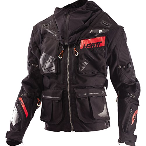 Leatt GPX 5.5 Enduro Men's Off-Road Motorcycle Jackets - Black/Grey Medium ()