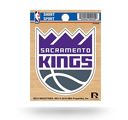 NBA Sacramento Kings Short Sport Decal, 3.5