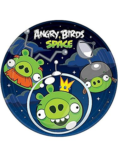 Angry Birds Space Dessert (Angry Birds Plates)