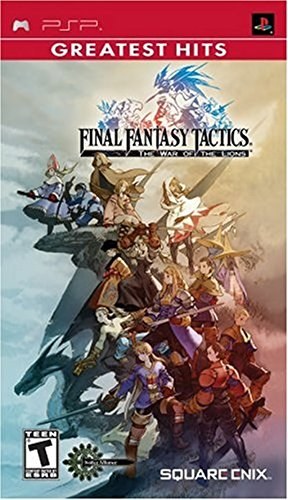 Final Fantasy Tactics: The War of the Lions - Sony PSP (Best Final Fantasy Game Of All Time)