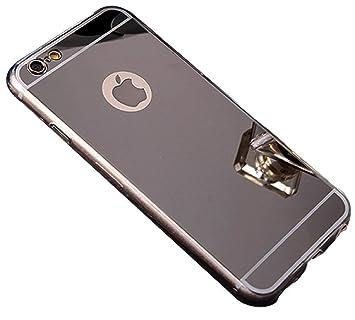 Sweau iPhone 8 Plus móvil, Espejo Teléfono Móvil para iPhone ...
