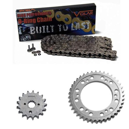 1999-2007 Suzuki Hayabusa GSX1300R O-Ring Chain and Sprocket Kit - Nickel