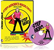 Step Hero DVD | Step Aerobics Made Easy for Beginners | with Master Instructor Jenny Ford | Cardio Fitness Ton