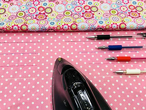 ibotti Heat Erase Pens for Fabric with 8 Free Refills for Quilting Sewing, 4 Colors Assorted Pack