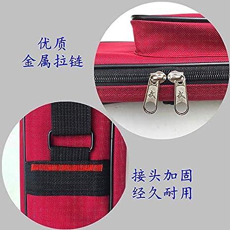 xiayanmei Taiji Schwert Set Schwert Tasche einzelne Doppelschicht zur/ück Dicke Oxford Tuch Schwert Tasche Multi-Funktion Doppel-Rei/ßverschluss Messer-Tasche-Blue Double Layer 100 cm