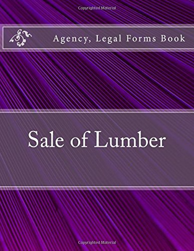Download Sale of Lumber: Agency, Legal Forms Book pdf epub