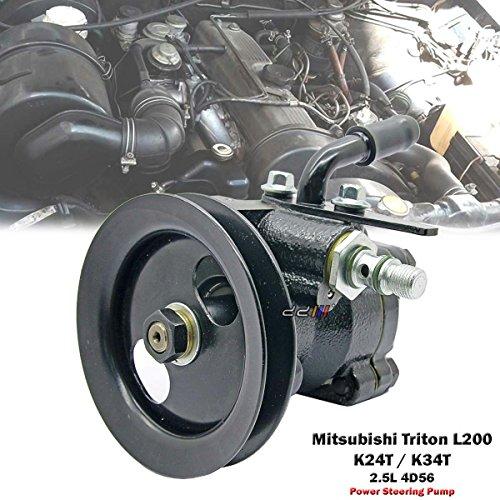 Power Steering Pump For Mitsubishi Triton L200 Pickup K24T K34T 1986-95 2.5L 4D56 4WD