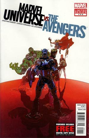 """Marvel Universe Vs the Avengers #1 """"Some Worlds Can't Be Saved. All Worlds Can Be Avenged' pdf"""