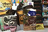 Coffee Lovers Jumbo Premium Gourmet Coffee Gift Box Basket Sampler Set with Well Made Lang Mug Perfect for Birthday Thinking of You Anniversary Sympathy Congratulations Christmas Prime